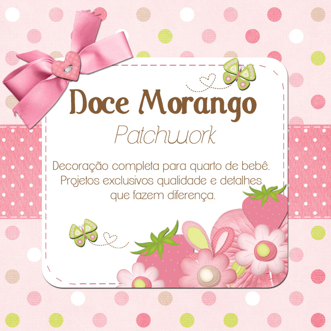 DOCE MORANGO PATCH