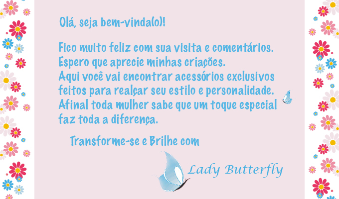 Lady Butterfly Moda e Acessrios