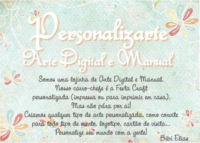 PERSONALIZARTE - ARTE DIGITAL E MANUAL