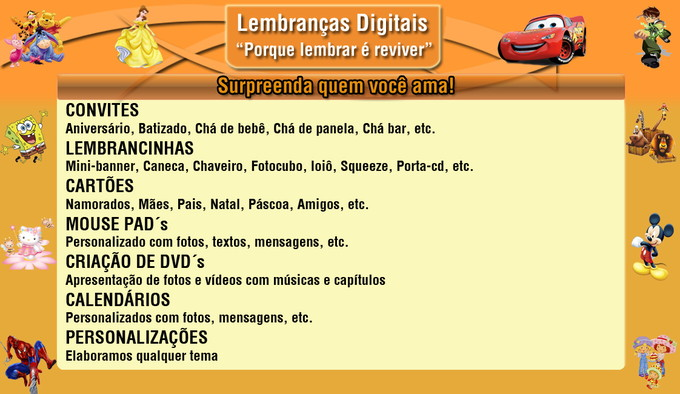 Lembran�as Digitais