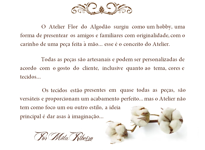 Atelier Flor do Algod�o