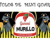Rótulo Mini Guaraná Batman
