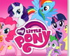 Adesivo Parede Infantil My Little Pony