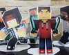 Display de mesa Minecraft