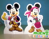 Display de Mesa do Mickey Mouse Pirata