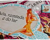 Placa divertida Pin Up Cha de lingerie
