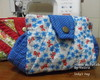 Lady's Bag (floral azul)