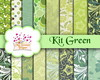 Kit Papel Digital GREEN