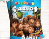 Revista Colorir Croods