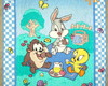 TAPETE INFANTIL BABY LOONEY TUNES