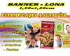 Banner Painel Personalizado 1,00x1,20cm