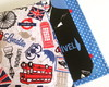Porta livro London blue