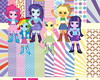 Kit Equestria Girls (My Little Pony)