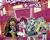 Kit de colorir + giz - Monster High