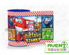 cofrinho personalizado Super Wings