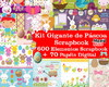 Super Kit Digital Páscoa Gigante - Scrapbook