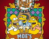 Placa decorativa MDF The Simpson.s