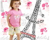 Banner festa Barbie Paris