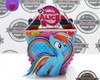 Caixa Sush My Little Pony Rainbow Dash