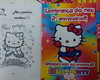 Revista p/ colorir + giz - Hello Kitty