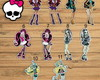 Apliques de Recorte Monster High - 3cm