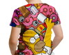 Camiseta Infantil Os Simpsons Homer