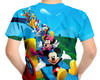 Camiseta Infantil Turma do Mickey Mouse