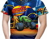 Camiseta Masculina Blaze and the Monster