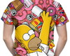 Camiseta Masculina Os Simpsons Homer
