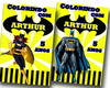 Kit colorir batman