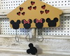 Casinha porta chaves Mickey Mouse