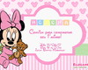 Convite Digital MINNIE BABY