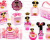 Arquivo de Corte Kit Minnie Princesa