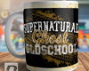 Caneca Supernatural Oldschool Winchester
