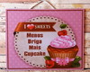 Placa Decorativa Mais Cupcake