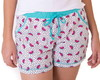 PIJAMA SHORT DOLL FEMININO ADULTO CURTO COM SHORTS- MELANCIA