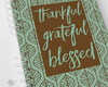 Caderno Thankful, Grateful, Blessed