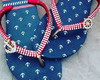 Havaianas Nautical Customizada