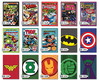 Combo 5 Placas Decorativas Ganhe 1 20x30 Geeks Marvel Comics