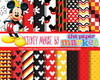 Kit Papel Digital Mickey Mouse