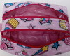 Estojo escolar ou necessaire de unicórnio + tiara pin up