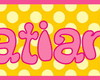 ~ Plaquinha/Little Plate ♥ Tatiane ~