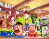 Painel toy story