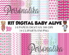 KIT DIGITAL BABY ALIVE