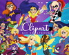 Cliparts: DC Superhero Girls