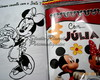 Revistinha ,kit colorir Mickey e Minnie