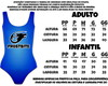 Body Adulto ou Body Infantil Abacaxi