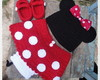 Conjunto de Crochê Minnie