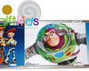 PLACA DE CARRO DECORATIVA TOY STORY