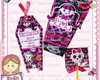 Convite Monster High Premium